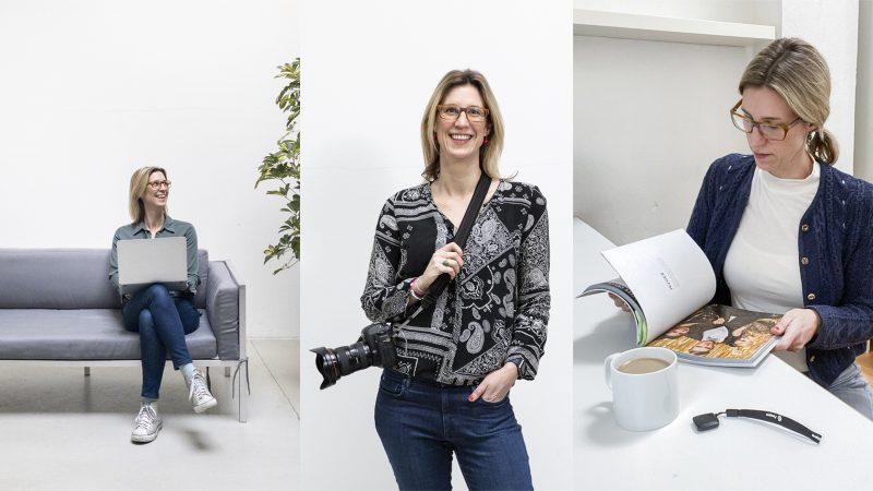 Eine Übersicht von drei verschiedenen Selbstportraits